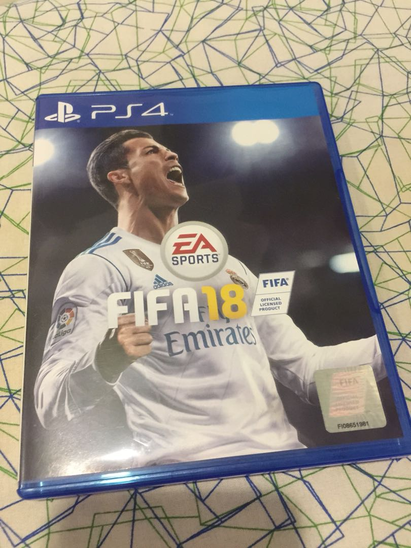 Ps4 Fifa 18 Reg 3 Toys Games Video Gaming On Carousell Sony Gt Sport Standard Edition Reg3