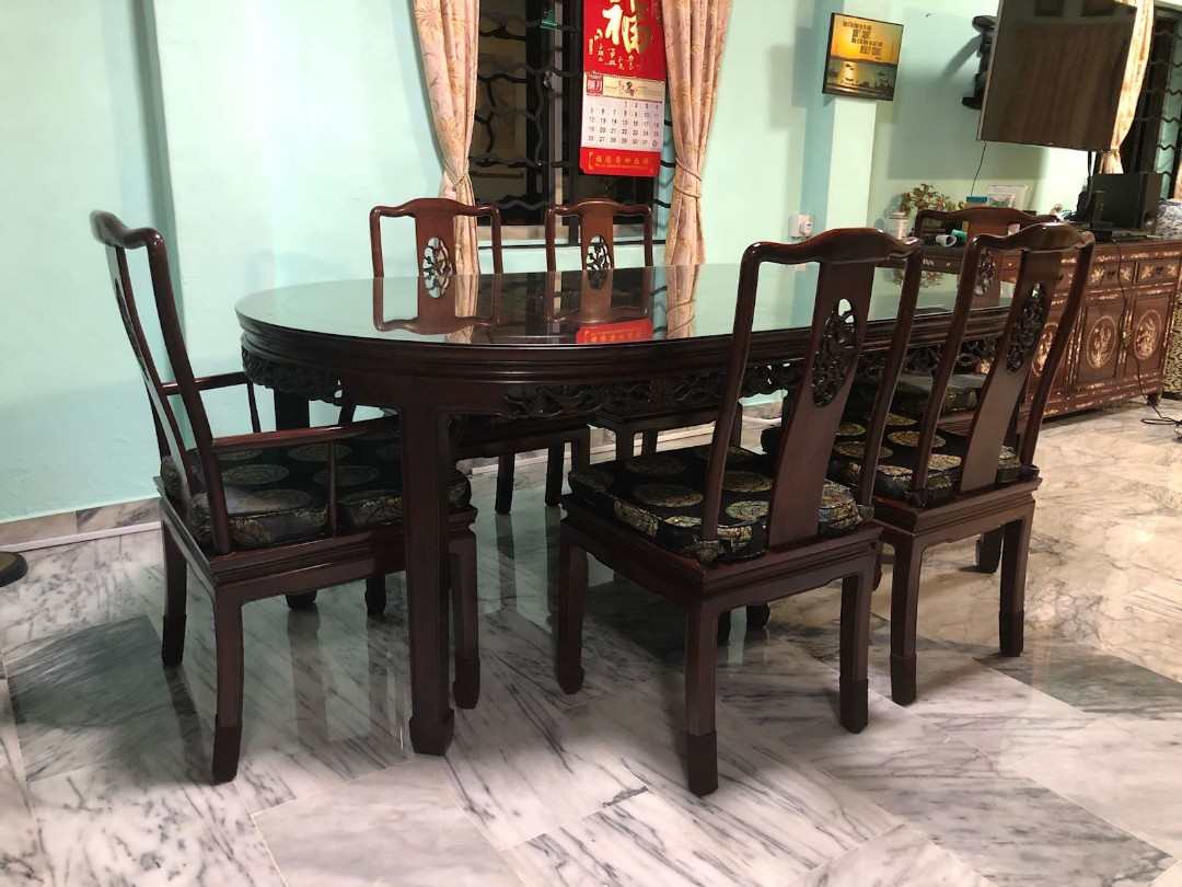 71349cabed7ea Rosewood 8 seater Dining set