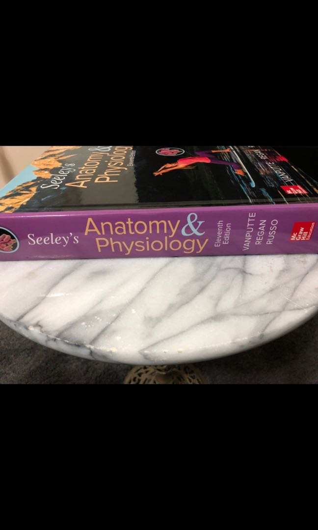Seeley\'s Anatomy & Physiology Eleventh Edition, Textbooks on Carousell