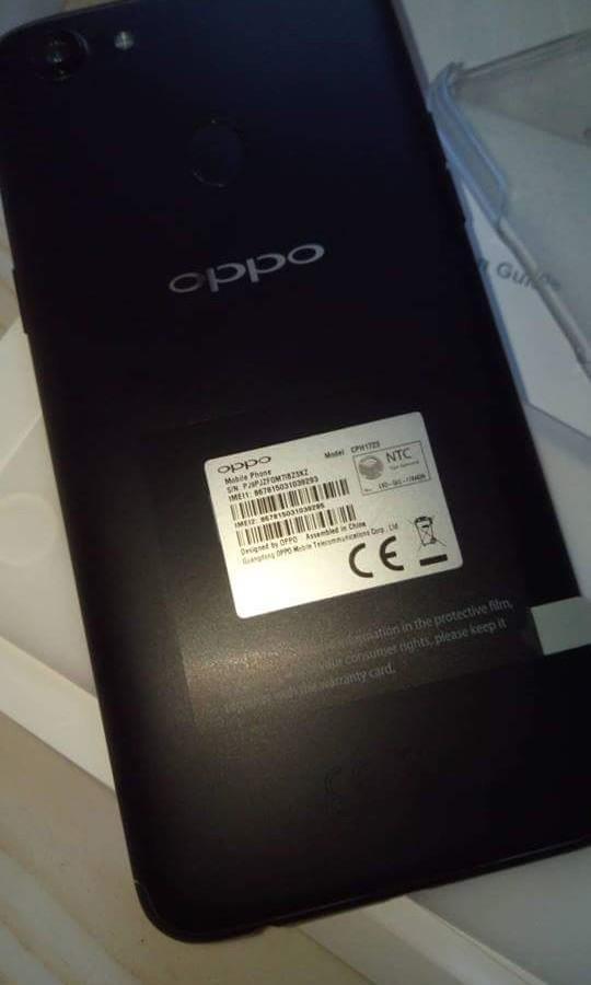Slightly used Oppo f5