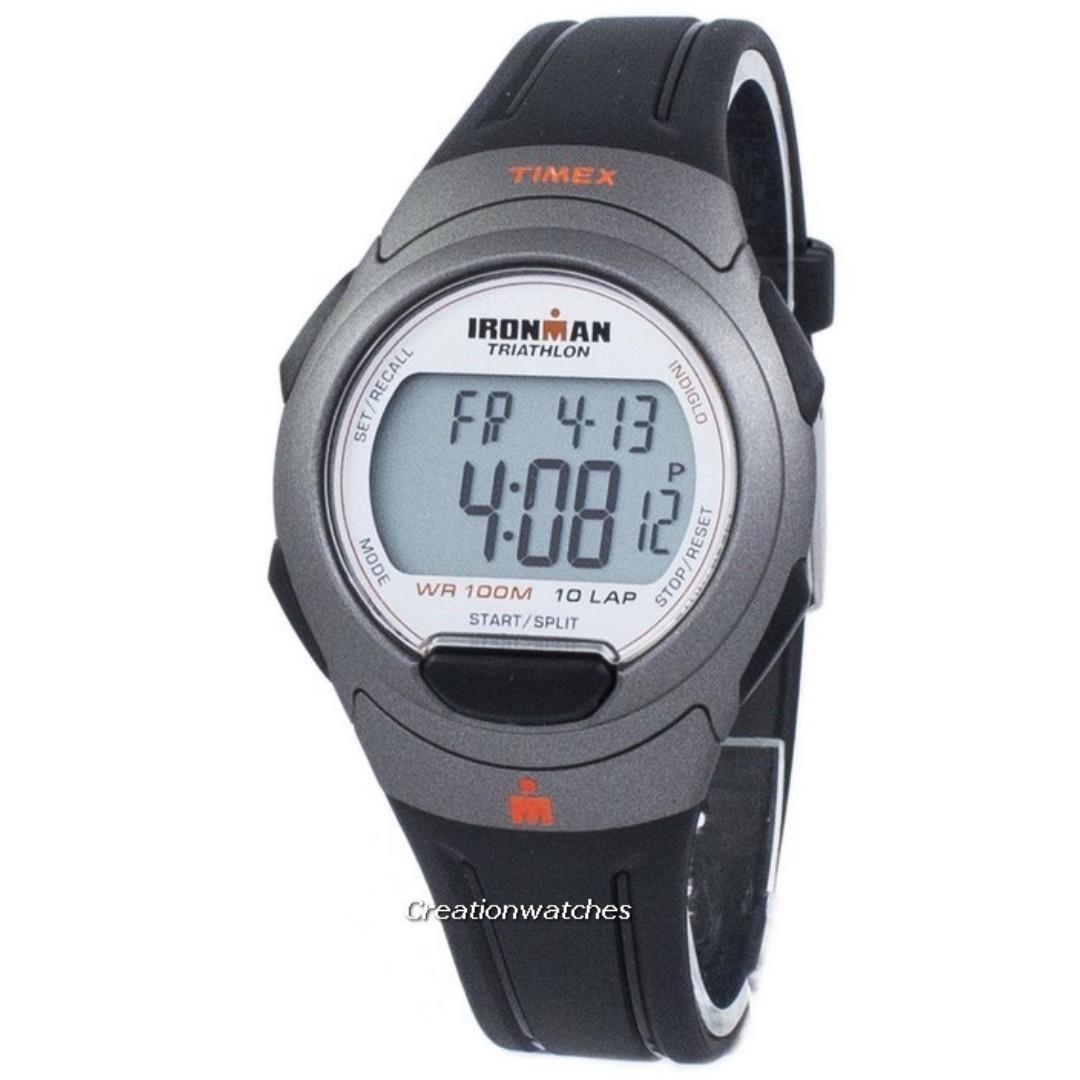 13a3ed9ca9 Timex Sports Ironman Triathlon 10 Lap Indiglo Digital T5K607 Men s ...