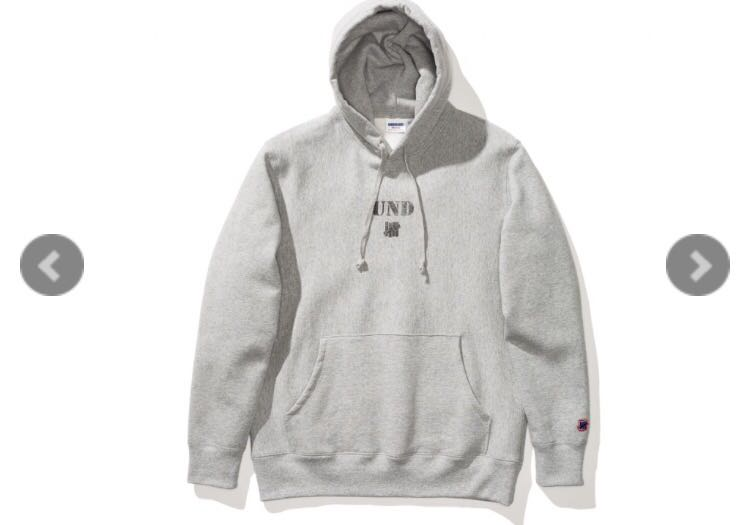 f89f5f2a Undefeated und icon pullover hoodie, Men's Fashion, Clothes, Tops on  Carousell