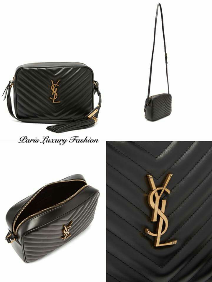 YSL Lou quilted leather cross-body bag 47056175663bd
