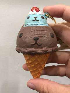 Kapibarasan Ice Cream Squishy