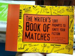 THE WRITER'S BOOK OF MATCHES (1,001 to ignite your fiction)
