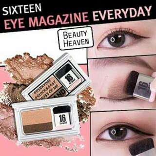Eyeshadow sixteen instant eyeshadow - lazy eyes eyeshadow import