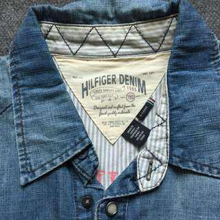 Hilfiger Denim shirt 牛仔裇衫
