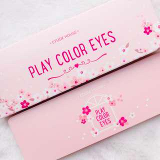 Etude House Play Color Eyes #Cherry Blossom (eyeshadow palette)