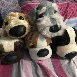 The Dog stuffed toys