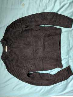 H&M thick cable sweater
