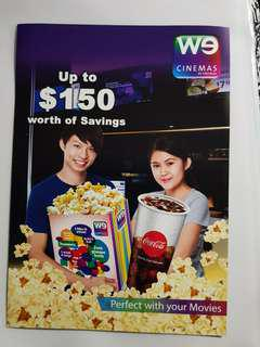 We Cinemas by ENGWAH Movie Discount Voucher