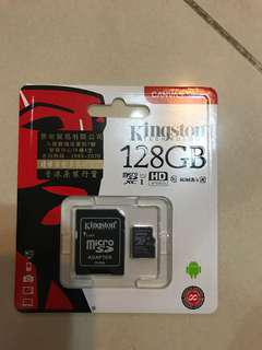 Micro SD Card kingston 128g
