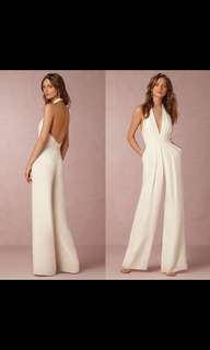 Jumpsuit white / putih