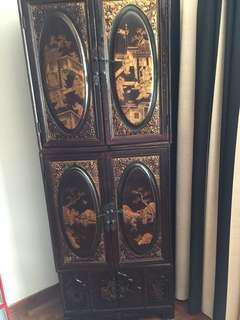 Antique furniture (3 parts)