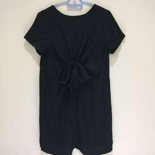 Black Pita Dress