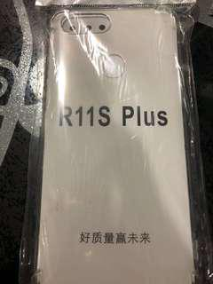 BNIP Oppo R11S Plus casing ~ Soft & Transparent