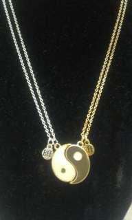 BFF Yin/Yang Necklace