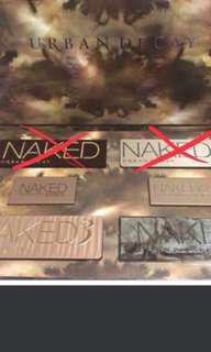 Naked urban decay eyeshadow palettes