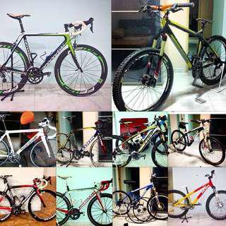 Bike Services ( Mountain Bike / Road Bike / Fixie )