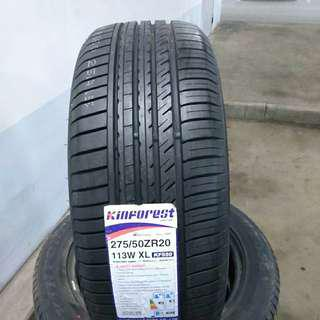 Tyre 275/50 R20 Kinforest 🙋‍♂️ The price shown is estimated