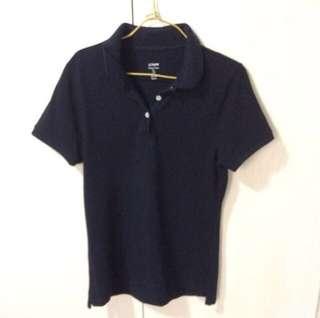 J crew navy polo shirt