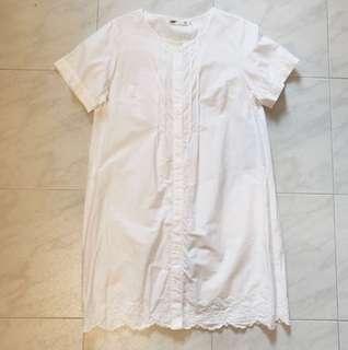 IT 日牌 Sevendays Sunday 白色長身衫