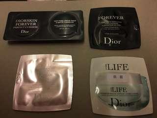 Dior four pieces=$20
