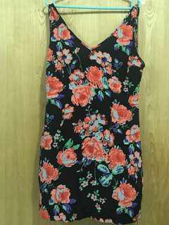 Floral Party Mini Dress