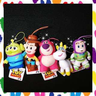 🛸🤺日本🇯🇵 正版 迪士尼🏰 皮克斯 SEGA 景品 玩具總動員 三眼怪 胡迪 熊抱哥 小奶油🦄 巴斯光年 吊飾 玩偶 💖