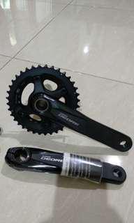 Crank Deore M-6000