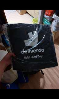 Brand new halal deliveroo thermal Bag can hang infront of scooter /bike sharing