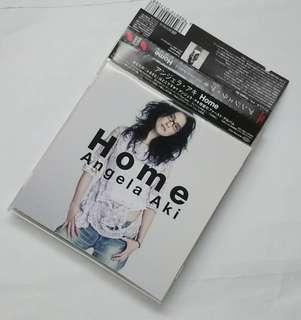 👍(日版) Angela Aki Home 日版大碟