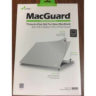 Apple New Macbook 12 inch JCPal Protection MacGuard 3-in-1 screen protector wrist guard BNEW SRP P2,350