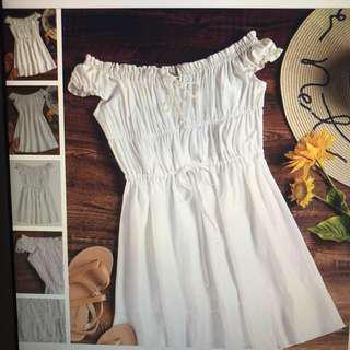 Zaful White Sundress