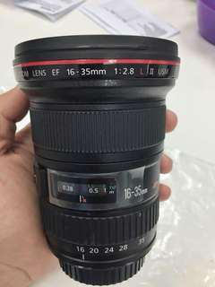 Canon 16-35mm F2.8 L USM II