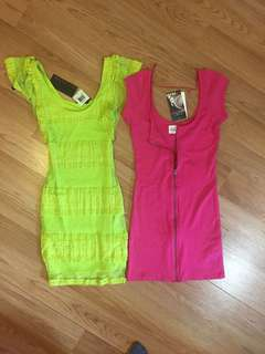 Lot of 2 Dresses Small