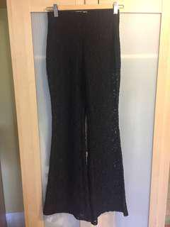 Coachella H&M lace pants Small