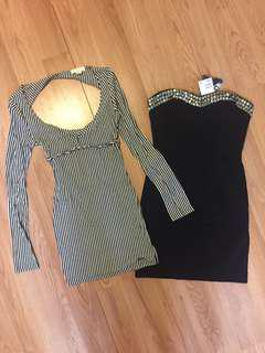 lot of 2 Dresses Size Small and XSmall