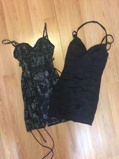 Lot of 2 Dresses Size Small