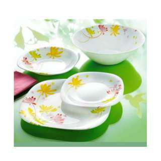 LUMINARC 19PC DECORATED DINNER SET