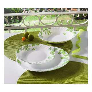 Luminarc 18pc Decorated Dinner Sets