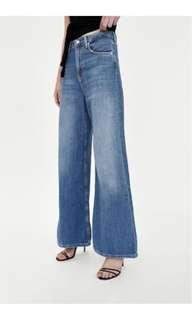 NWT Zara High-Waist Flare Jeans