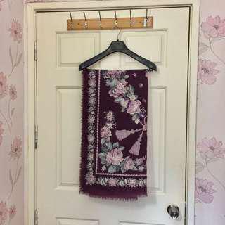 Wool wrap/ scarf