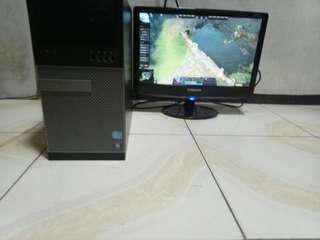 gaming cpu and 19inc wide monitor