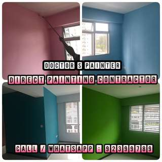 Direct Painting Services! House , office , warehouse painting all welcome! Cheapest in SG