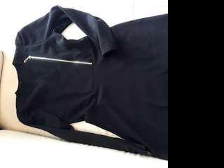Semi coat dress