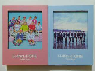 WANNA ONE - TO BE ONE ALBUM