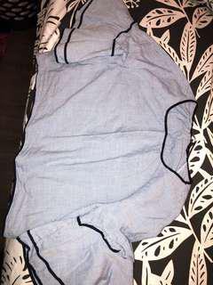 Zara shirt - size small (fits like a medium)