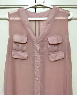 See through dress/vest