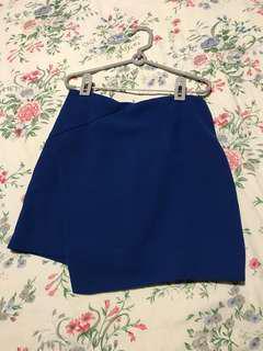 GG5 blue skirt size M - A-line short skirt